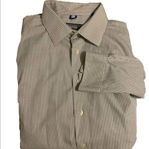 Kenneth Cole Mens Long Sleeve  Button Down Size L
